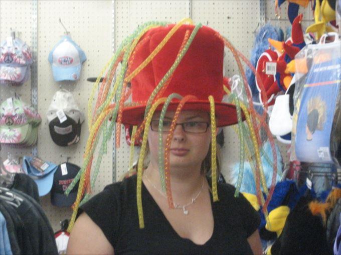 変わった帽子39
