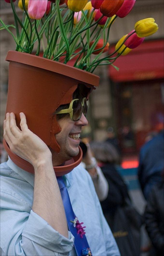 変わった帽子48