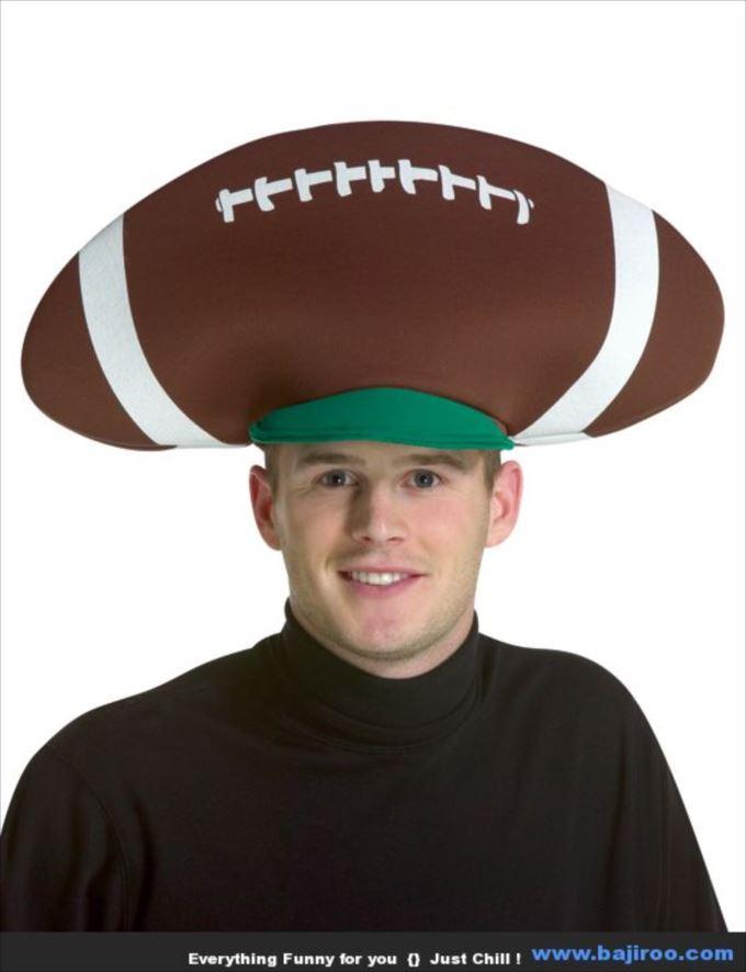 変わった帽子49