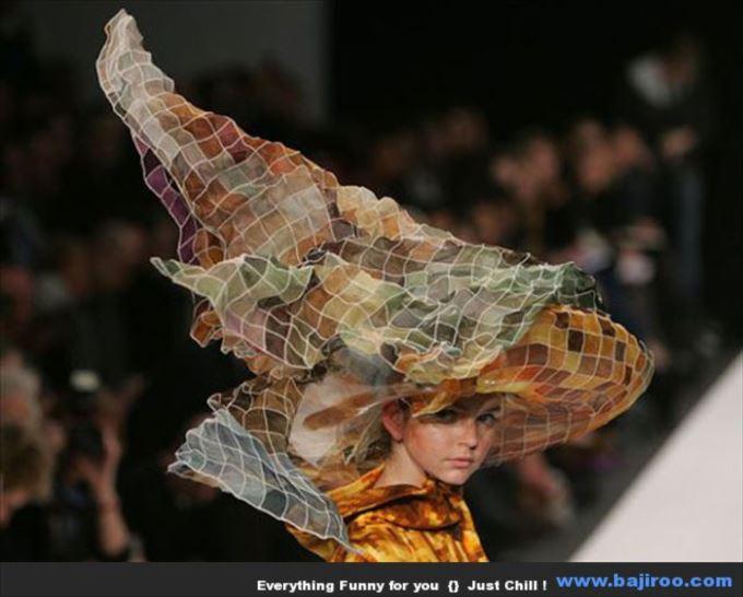 変わった帽子62