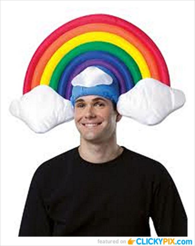 変わった帽子95