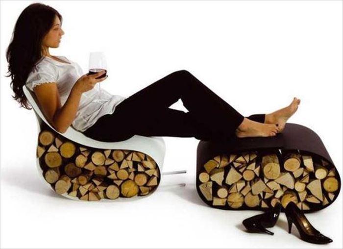 クリエイティブな家具0