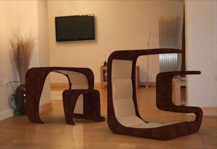 クリエイティブな家具2
