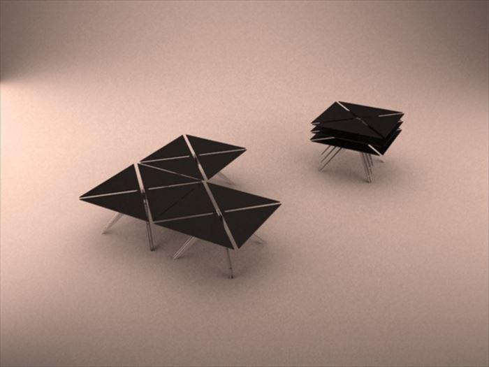 クリエイティブな家具26