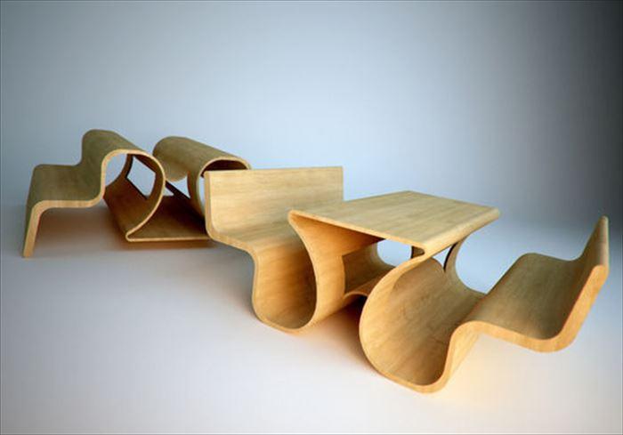 クリエイティブな家具3