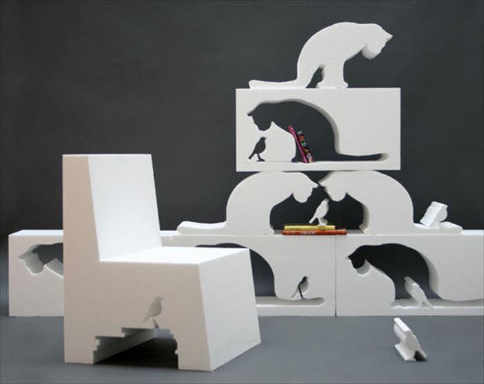 クリエイティブな家具4