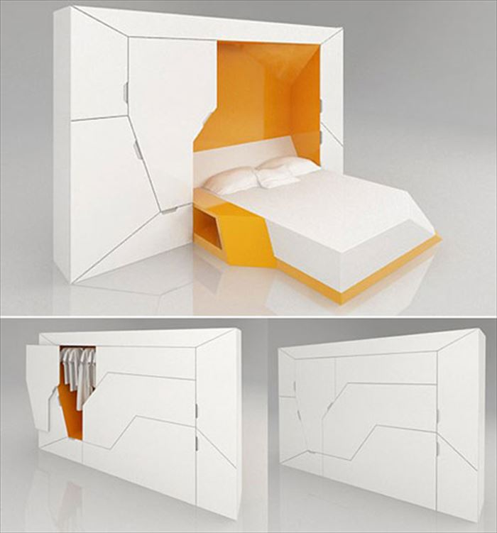 クリエイティブな家具46