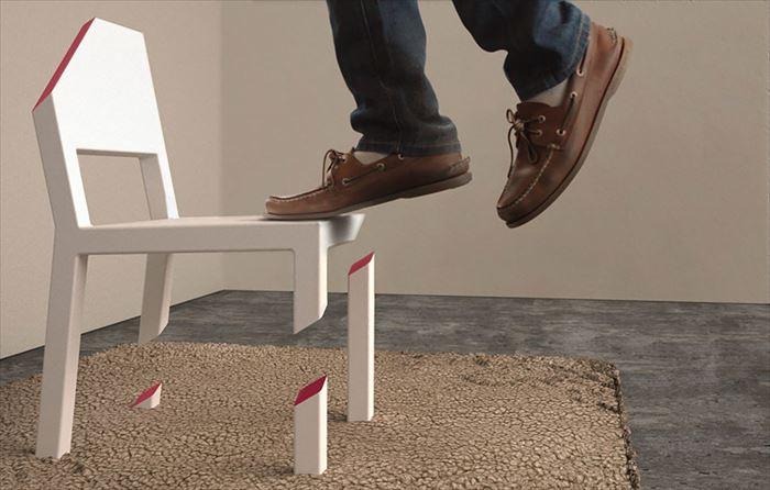クリエイティブな家具73