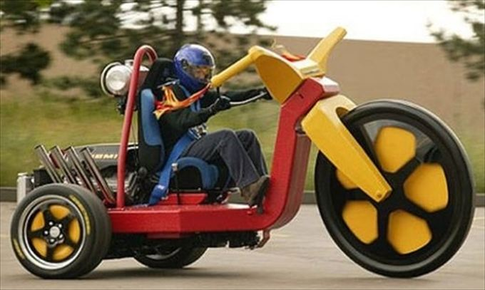 変わったバイク12