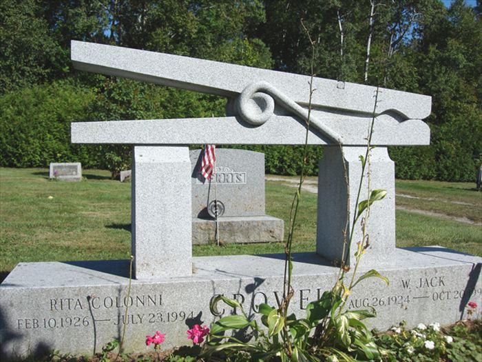 変わった墓7