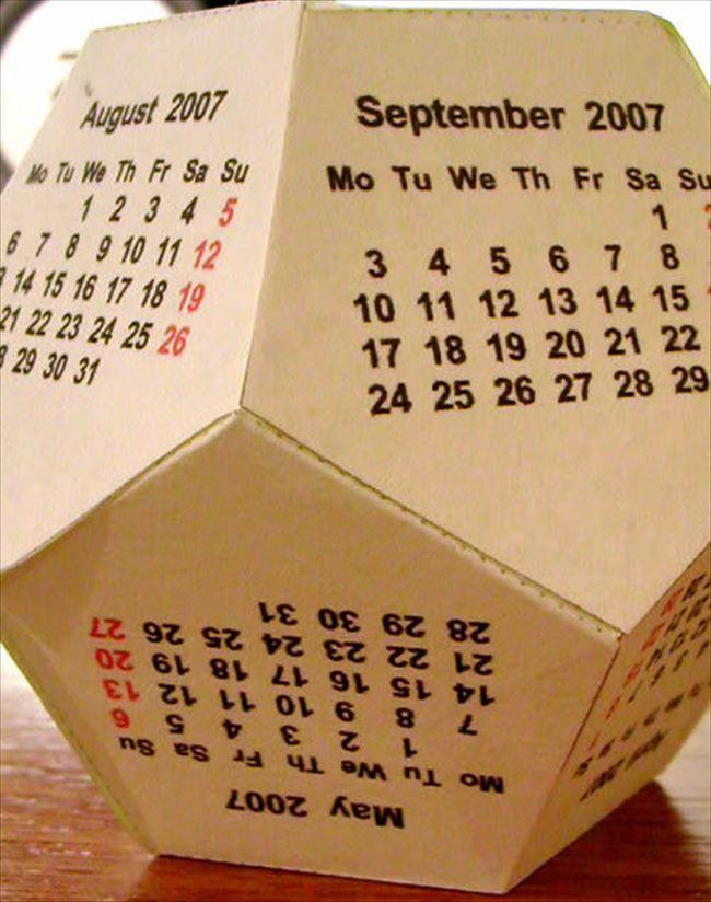 変わったカレンダー 34