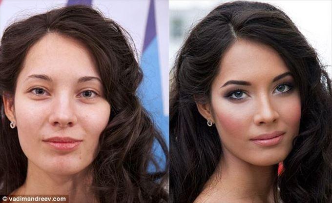 化粧の力11