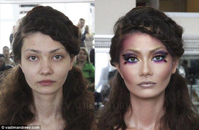 化粧の力12