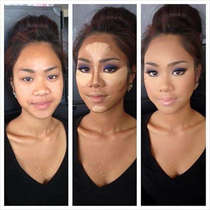 化粧の力13