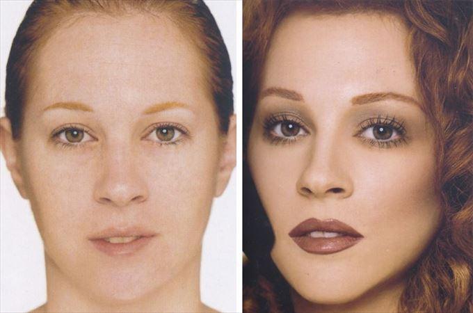 化粧の力14
