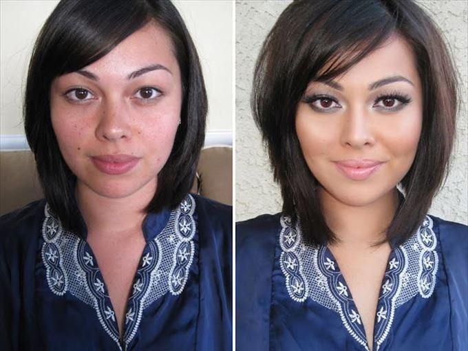 化粧の力15