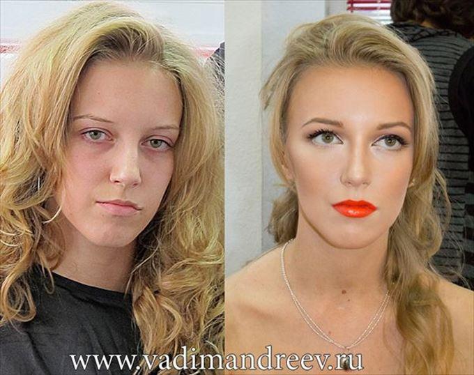 化粧の力17