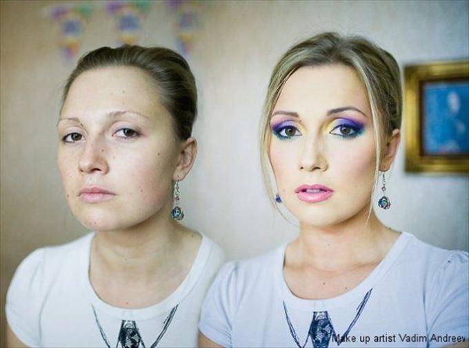 化粧の力18