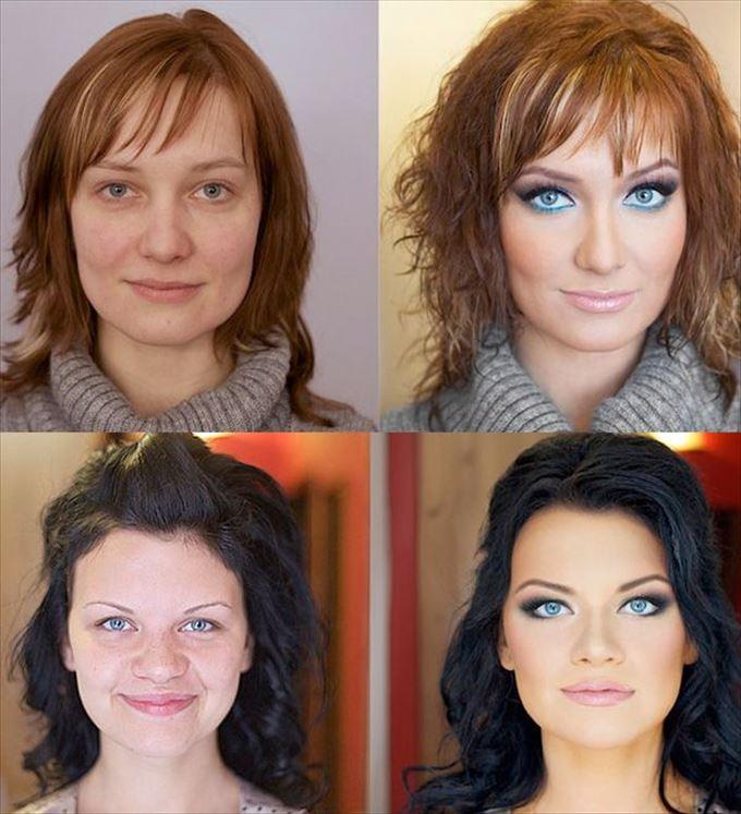化粧の力19
