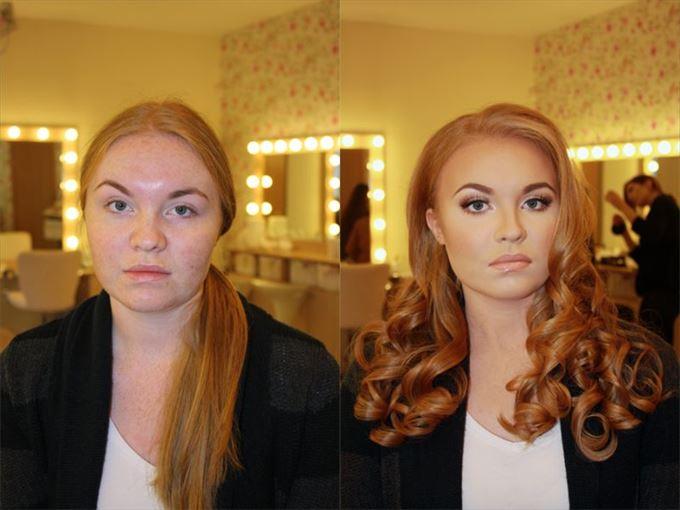 化粧の力2