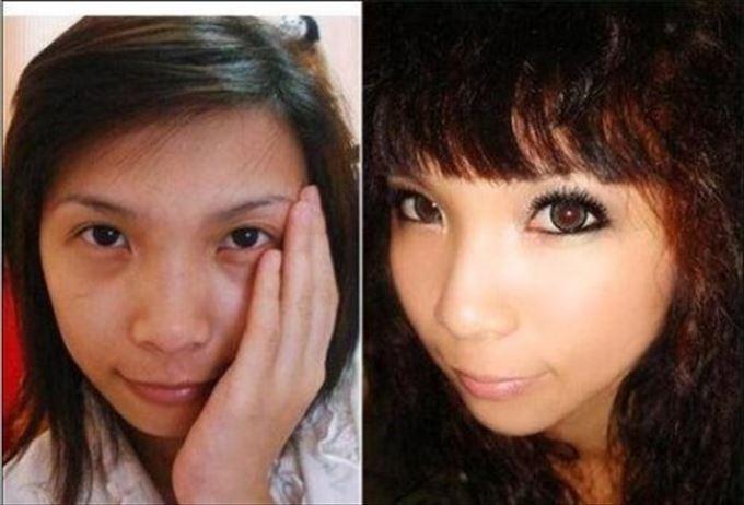 化粧の力21