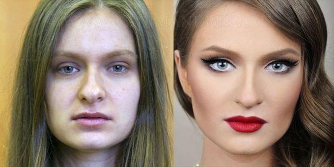 化粧の力3