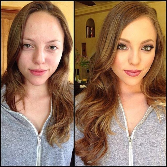 化粧の力32