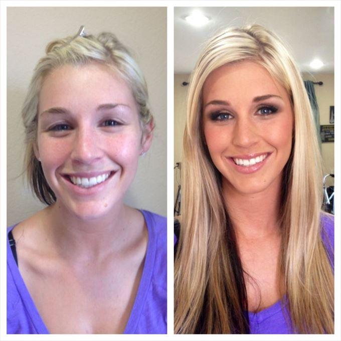 化粧の力4
