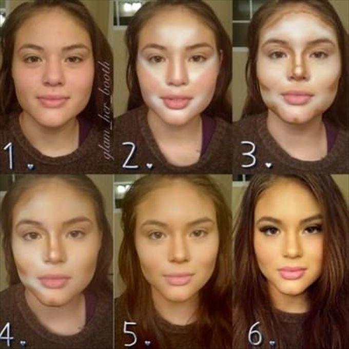 化粧の力5