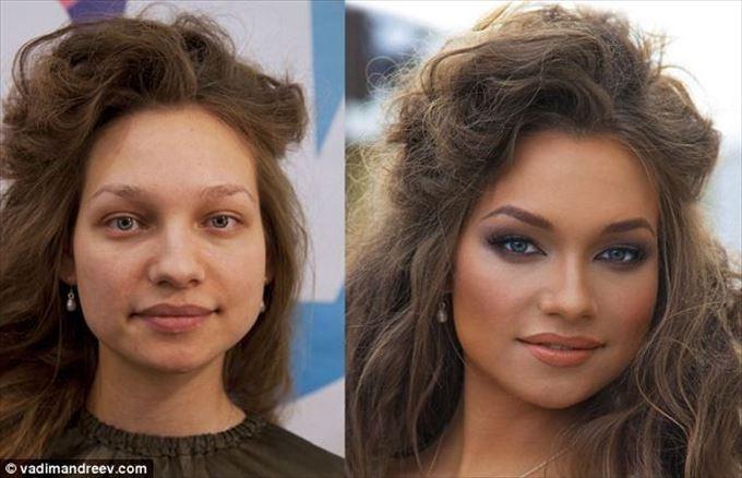 化粧の力6