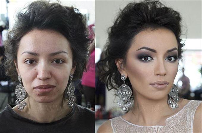化粧の力7