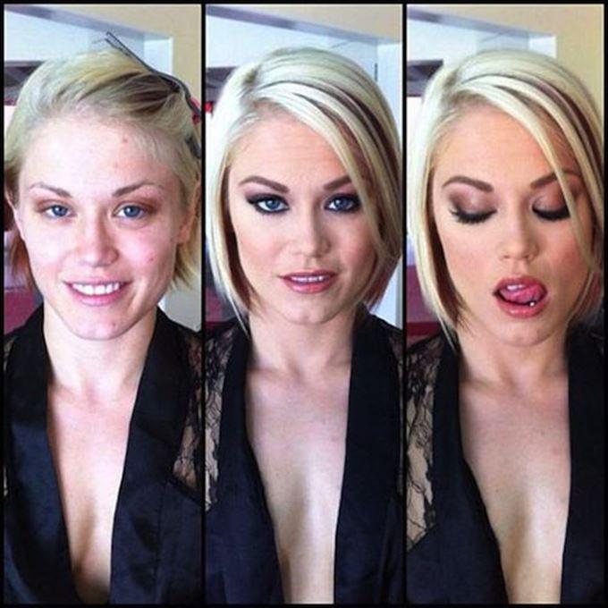 化粧の力8