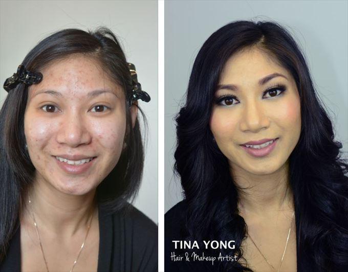化粧の力9