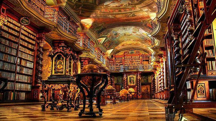 美しい図書館 1