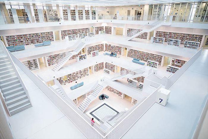 美しい図書館 16