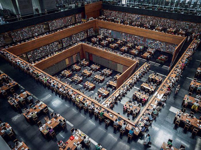 美しい図書館 25