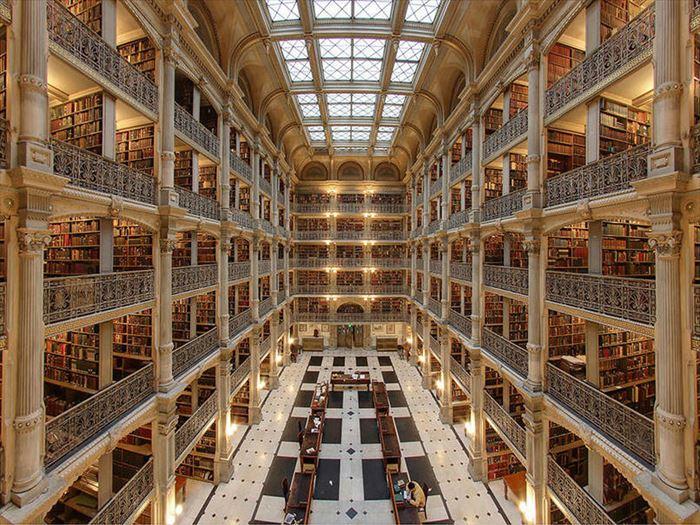 美しい図書館 6