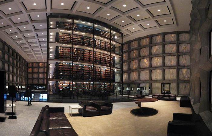 美しい図書館 9.5