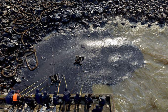 中国汚染 24.5