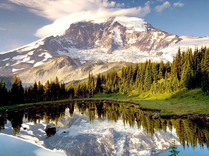 美しい山 28