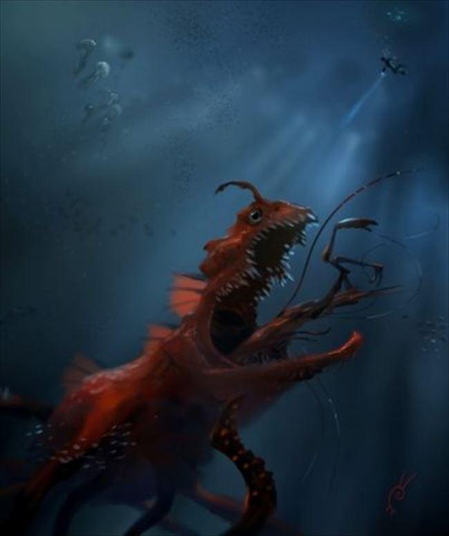 化け物怪物 10