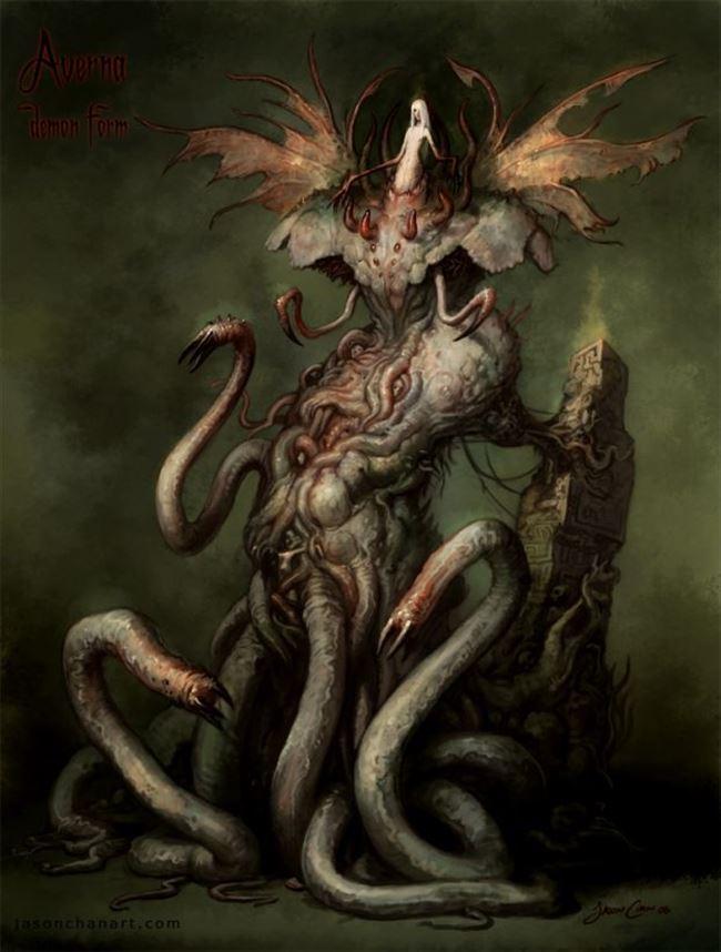 化け物怪物 17
