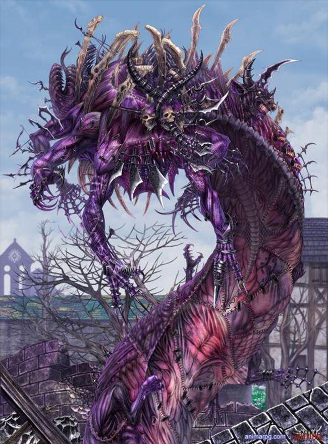化け物怪物 19