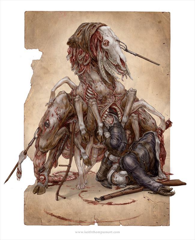 化け物怪物 26