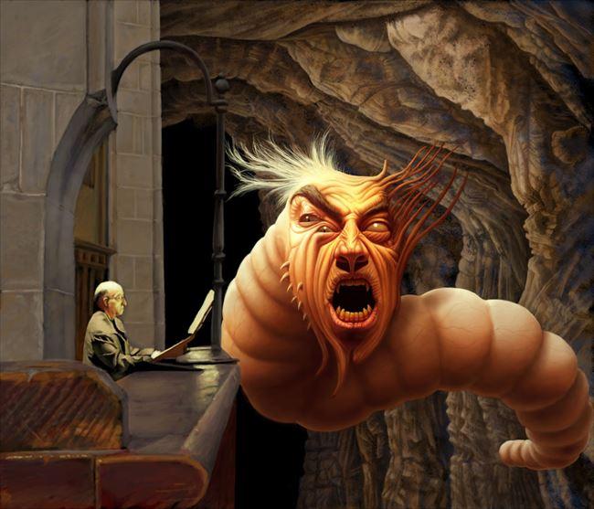 化け物怪物 31