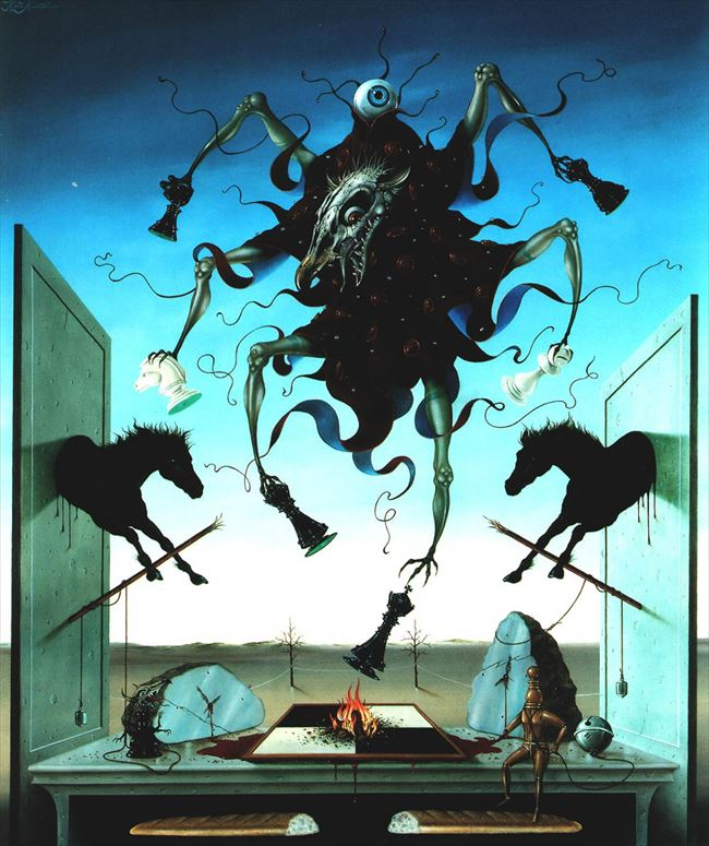 化け物怪物 44