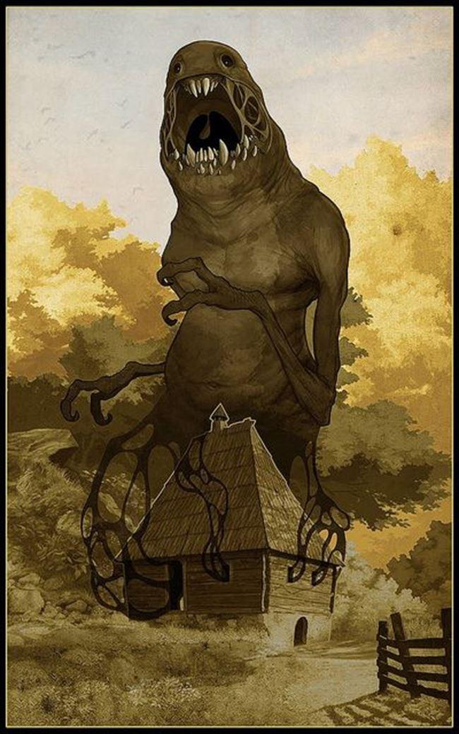 化け物怪物 46