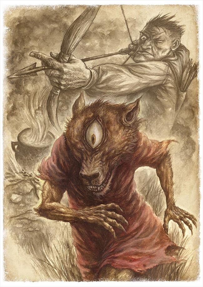 化け物怪物 49