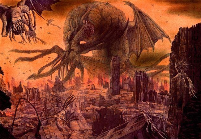 化け物怪物 74