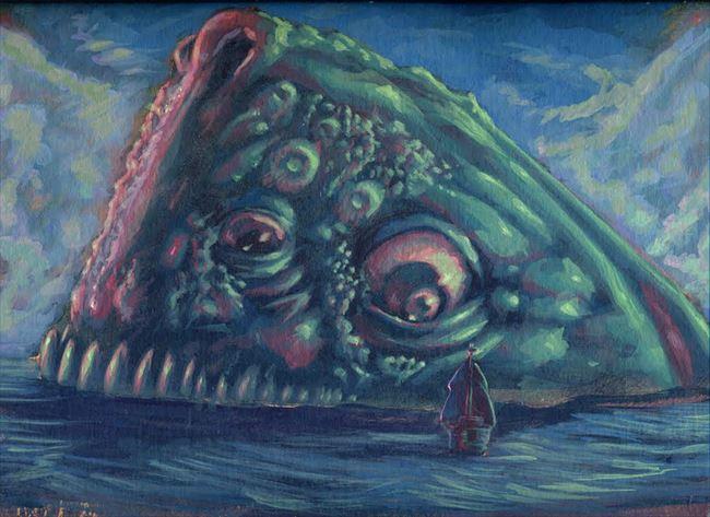 化け物怪物 76